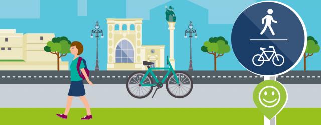 Lecce in bici e a piedi